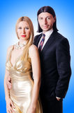 Para w romantycznym Obraz Royalty Free