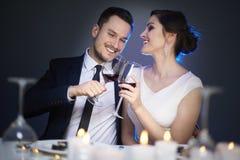 Para w walentynki ` s dniu zdjęcie royalty free