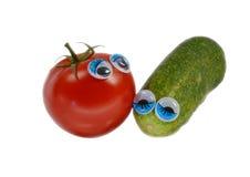 Para warzywa Zdjęcia Stock