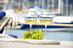 Para wineglasses Zdjęcie Stock