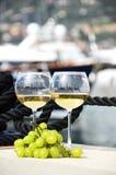 Para wineglasses Obrazy Stock