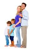 Para z dwa dziećmi Obraz Stock