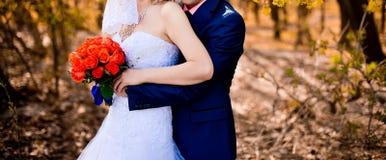 para za mąż Fotografia Royalty Free