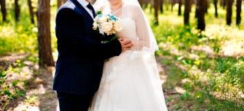 para za mąż Zdjęcia Royalty Free
