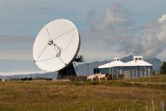 Parabola in Islanda fotografia stock