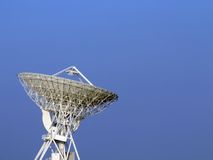 Parabolic antenna. The 32 meters parabolic antenna of Medicina - Bologna - Italy Stock Images