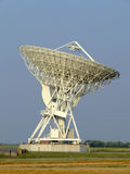 Parabolic antenna. The 32 meters parabolic antenna of Medicina - Bologna - Italy Royalty Free Stock Photography
