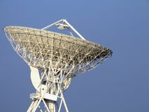 Parabolic antenna. The 32 meters parabolic antenna of Medicina - Bologna - Italy Stock Image