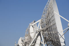 Parabolic antenna Stock Photos