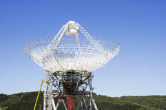 Parabolic antenna of an astronomical observatory Stock Photography