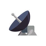 Parabolic antenna technology. Icon  illustration graphic design Stock Images