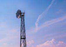 Parabolic antenna Stock Photos