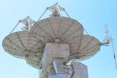 Free Parabolic Antennas Of A Warship. Radar Or Radiolocation Device. Stock Photography - 191287422