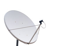 Parabolic communication antenna Royalty Free Stock Images