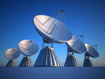 Parabolic dish Stock Photography