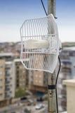 Parabolic grid antenna Royalty Free Stock Image