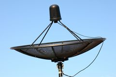 Parabolic satellite dish Stock Photography