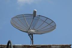 Parabolische antenne Royalty-vrije Stock Afbeeldingen