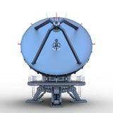 Parabolische antenne Stock Foto's