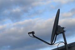 Paraboloïde 02 de micro-onde Images libres de droits