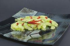 Paraboloïde chinois avec le melon amer Photographie stock libre de droits