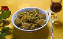 Paraboloïde chinois de nourriture Photos libres de droits