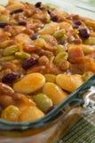 Paraboloïde cuit au four d'haricot Images stock