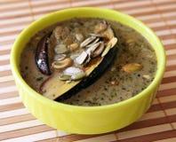 Paraboloïde cuit d'aubergine Images stock