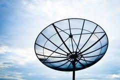 Paraboloïde d'antenne de satellite photos stock
