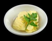 Paraboloïde de beurre Photographie stock libre de droits