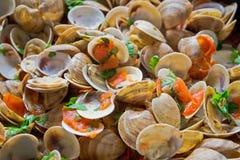 Paraboloïde de fruits de mer images libres de droits