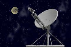 Paraboloïde de nuit Photographie stock