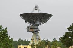 Paraboloïde de radar de l'espace photographie stock libre de droits