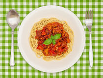 Paraboloïde de spaghetti Photos stock