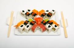 Paraboloïde de sushi Photographie stock