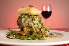 Paraboloïde gastronome de fantaisie de restaurant Image libre de droits