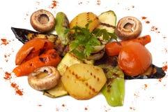 Paraboloïde grillé de légumes Photographie stock libre de droits