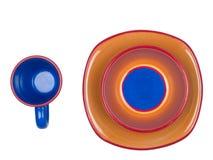 Paraboloïdes colorés Images libres de droits