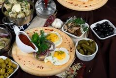 Paraboloïdes de nourriture Photos stock
