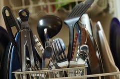 Paraboloïdes modifiés dans le lave-vaisselle Image libre de droits