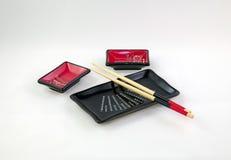 Paraboloïdes pour des sushi Photo libre de droits