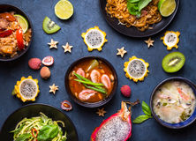 Paraboloïdes thaïs de nourriture Photo libre de droits