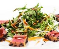 Paraboloïdes thaïs - salade de thon Images stock