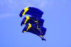 Paracaídas Imágenes de archivo libres de regalías