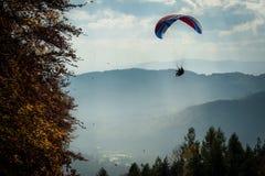 Paracaídas imagen de archivo