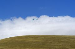 Paracaídas 4 Fotografía de archivo libre de regalías