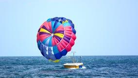 Paracaídas colorido Fotos de archivo