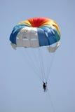 Paracaídas remolcado. Fotos de archivo libres de regalías