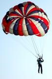 Paracadute Fotografie Stock