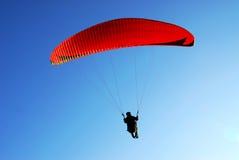 Paracadute di volo Fotografie Stock